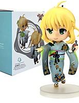 economico -Figure Anime Azione Ispirato da Fate/stay night Saber 12 CM Giocattoli di modello Bambola giocattolo