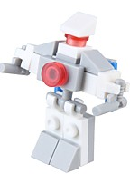 Robot Building Blocks Toys Novelty Military Stress and Anxiety Relief Decompression Toys Parent-Child Interaction ABS Kids Adults' 24