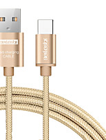 BEILESHI USB 2.0 Connect Cable USB 2.0 to USB 2.0 Type C Connect Cable Male - Male 2.0m(6.5Ft)
