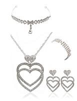 economico -Per donna Gioielli per fronte I monili nuziali Strass Europeo Di tendenza Matrimonio Feste Diamanti d'imitazione Lega Cuori Gioielli per