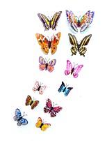 Недорогие -Животные 3D Наклейки Простые наклейки Декоративные наклейки на стены,Винил Украшение дома Наклейка на стену Стена