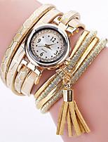 preiswerte -Damen Armbanduhren für den Alltag Modeuhr Chinesisch Quartz Chronograph Armbanduhren für den Alltag Leder Band Elegant Halloween