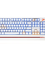 abordables -dareu wired keyboard keyboard blue switches 1.8m