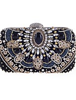 cheap -Women Bags Polyester Evening Bag Pearl Detailing for Wedding Event/Party All Season Black