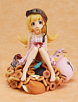 cheap -Anime Action Figures Inspired by Bakemonogatari Monstory Oshino Shinobu PVC CM Model Toys Doll Toy