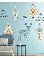 cheap -Animals Abstract Wall Stickers Plane Wall Stickers Decorative Wall Stickers,Paper Home Decoration Wall Decal Wall