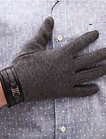 economico -Da uomo Inverno Altro Da ufficio Casual Al polso Interi,Solidi Grigio scuro
