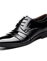 cheap -Men's Shoes Synthetic Microfiber PU Spring Fall Comfort Oxfords for Casual Brown Black