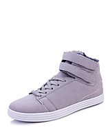 cheap -Men's Shoes Suede Spring Fall Comfort Sneakers for Casual Outdoor Blue Gray Black