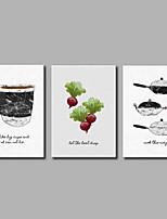 economico -Stampe a tela Classico,Tre Pannelli Tela Stampa Decorazioni da parete Decorazioni per la casa
