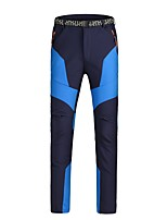 Men's Ski / Snow Pants Warm Waterproof Windproof Wearable Antistatic Breathability Snow Sports Chinlon