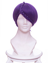 cheap -Cosplay Wigs Land of the Lustrous Amethyst84 Anime Cosplay Wigs 33 CM Heat Resistant Fiber Unisex