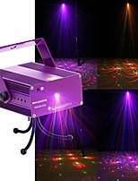 U'King Eclairage Laser de Scène DMX 512 Master-Slave Activé par son Télécommande 12 pour Extérieur Soirée Etape Mariage Boîte de Nuit