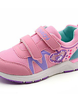 cheap -Girls' Shoes Tulle Winter Fall Comfort Sneakers for Casual Pink Peach