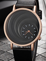 cheap -Women's Casual Watch Fashion Watch Chinese Quartz Casual Watch PU Band Casual Elegant Black Brown