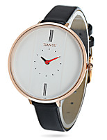 cheap -Women's Casual Watch Fashion Watch Wrist watch Japanese Quartz Water Resistant / Water Proof Casual Watch Genuine Leather Band Casual