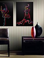 Toile Moderne,Deux Panneaux Toile Format Vertical Imprimé Décoration murale For Décoration d'intérieur