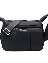 cheap -Women Bags Oxford Cloth Shoulder Bag Zipper for Casual Outdoor Winter Fall Fuchsia Purple Black Blue