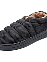 cheap -Men's Shoes Cashmere Winter Comfort Slippers & Flip-Flops for Casual Gray Brown