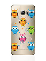 cheap -Case For Samsung Galaxy S8 Plus S8 Pattern Back Cover Owl Soft TPU for S8 Plus S8 S7 edge S7 S6 edge plus S6 edge S6