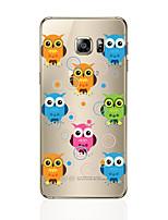 baratos -Capinha Para Samsung Galaxy S8 Plus S8 Estampada Capa Traseira Corujas Macia TPU para S8 Plus S8 S7 edge S7 S6 edge plus S6 edge S6