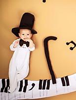 preiswerte -Baby Unisex Kleidungs Set Alltag Solide Baumwolle Ganzjährig Langärmelige Einfach Weiß