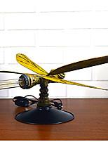 Рассеянное освещение Художественный Простой Настольная лампа Регулируется Вкл./выкл. От электросети 220 Вольт Темно-желтый