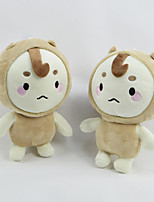 cheap -Stuffed Toys Doll Toys Dog Family Friends Cute Soft Cartoon Toy Decorative Cartoon Design Kids Adults' 1 Pieces