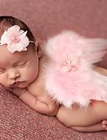 cheap -Unisex Hair Accessories,All Seasons Faux Fur Headbands-Blushing Pink White