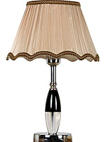 cheap -Artistic Crystal Table Lamp For Crystal 220-240V Light Brown