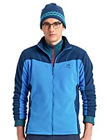 cheap -Men's Hiking Fleece Jacket Outdoor Winter Keep Warm Top Single Slider Running/Jogging Fishing Casual Camping