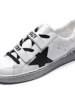 Недорогие -Для мужчин обувь Полиуретан Весна Осень Удобная обувь Кеды для Повседневные Белый Черный Серый