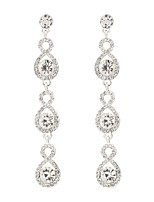 cheap -Women's Drop Earrings Classic Elegant Imitation Diamond Alloy Jewelry Wedding Party