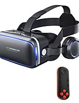 cheap -VR Headset Shinecon 6.0 Pro Stereo Virtual Reality Smartphone 3D Glasses BOX VR Headset with Controller for Android