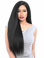 cheap -Women Synthetic Lace Front Wig Long Kinky Straight Black African American Wig Celebrity Wig Natural Wigs Costume Wig