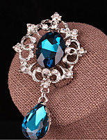 cheap -Women's Brooches Fashion Crystal Drop Jewelry For Gift Daily
