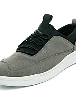 cheap -Men's Shoes PU Suede Winter Fall Comfort Sneakers for Casual Gray Beige Black White