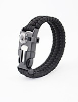 cheap -Survival Bracelet Camping / Hiking / Caving Camping & Hiking Outdoor Nylon fiber metal 1 pcs
