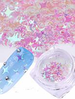 economico -1pc Brillanti Laser Holografico Con lustrini 1 # Nail Art Design