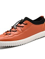 cheap -Men's Shoes PU Spring Fall Comfort Sneakers for Casual Orange Black White