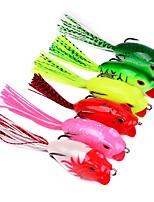 "cheap -10 pcs Fishing Tools Shad Soft Bait g/Ounce,60 mm/2-1/3"" inch,Plastic Sea Fishing Trolling & Boat Fishing Lure Fishing"