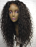 Hot!! Curly Lace Front Wig Brazilian Human Hair Wigs 100% Human Hair Natural Hairline 8''-30'' Lace Wigs With Baby Hair For Women
