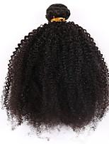 cheap -1 piece Natural Black Unprocessed Brazilian Human Hair Weaves Hair Extensions