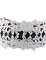 cheap -Women's Hair Comb,Simple Lace Jewelry All Seasons White