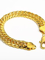 cheap -Men's Chain Bracelet , Rock Hiphop Gold Plated Irregular Jewelry Club Street