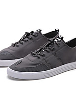 cheap -Men's Shoes Other Animal Skin Spring Fall Comfort Sneakers for Casual Red Gray Black White
