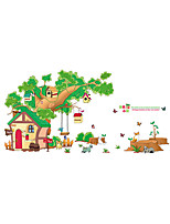 cheap -Animals Landscape Wall Stickers Plane Wall Stickers Decorative Wall Stickers Photo Stickers,Vinyl Home Decoration Wall Decal Window Wall