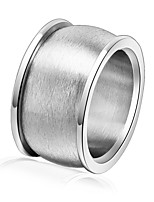 cheap -Men's Women's Band Rings Asian Vintage Stainless Steel Circle Jewelry For Party Festival