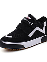 cheap -Boys' Shoes Canvas Winter Fall Comfort Sneakers Walking Shoes Magic Tape for Casual Black Pink