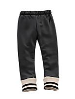 cheap -Girls' Solid Pants,PU Winter Fall Black